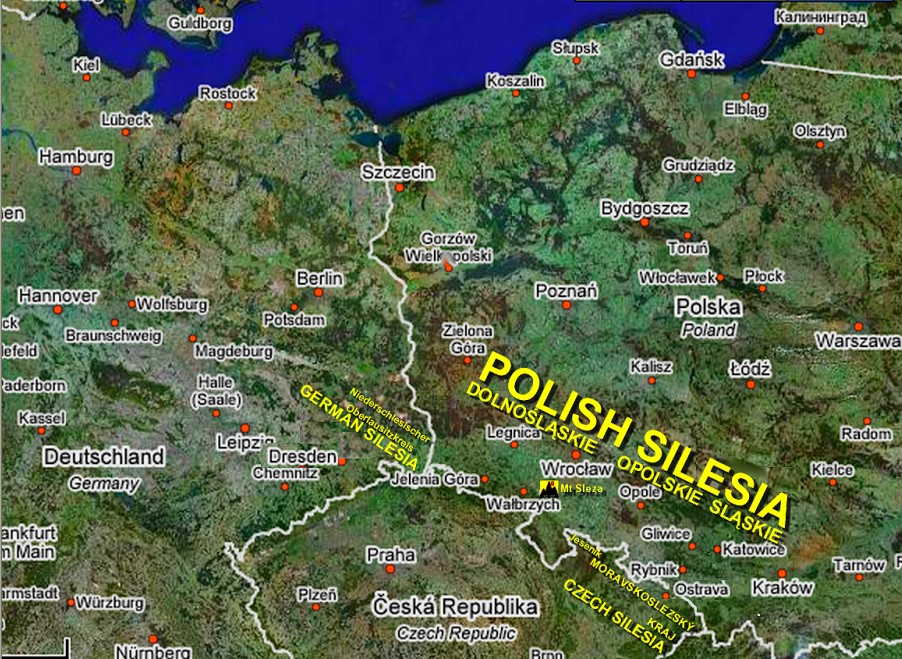 Stolz Family Research: History of SilesiaSilesia Map Europe